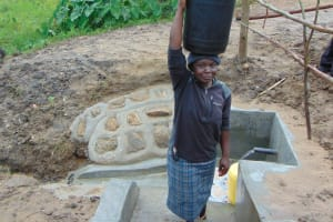 The Water Project: Sasala Community, Kasit Spring -  Ready To Go Home
