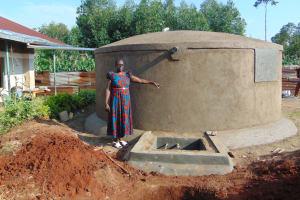 The Water Project: Magaka Primary School -  Head Teacher Mrs Jane Ayodi