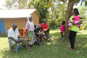 The Water Project: Buyangu Community, Osundwa Spring -  Community Member Responds To A Question