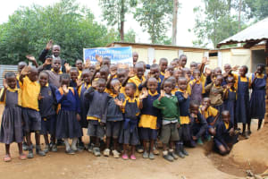 The Water Project: Friends Primary School Givogi -  Celebrating The Latrines