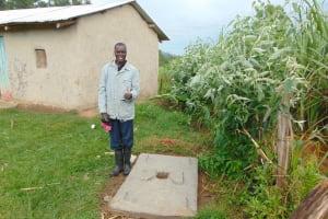 The Water Project: Sasala Community, Kasit Spring -  Proud New Sanitation Platform Owner
