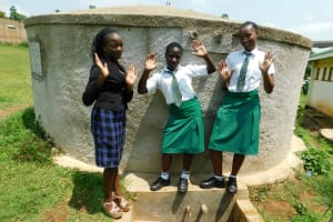 The Water Project: ACK Milimani Girls' Secondary School -  Michelle With Lutta And Immaculate