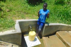 The Water Project: Chegulo Community, Werabunuka Spring -  Ruth Ojiado