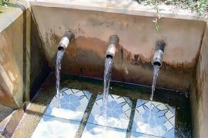 The Water Project: Irumbi Community, Shatsala Spring -  Shatsala Spring Flows Strongly