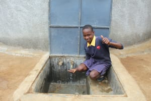 The Water Project: Friends Primary School Givogi -  Thumbs Up For Clean Water