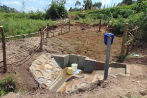 The Water Project: Shihungu Community, Shihungu Spring -  Shihungu Spring Site