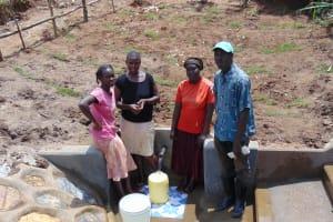 The Water Project: Shihungu Community, Shihungu Spring -  Community Members