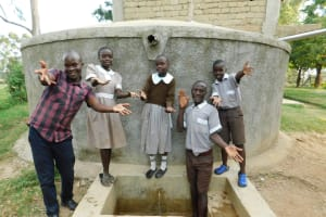 The Water Project: Lusiola Primary School -  Ta Da Clean Water