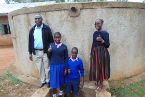 The Water Project:  Mr Shibira Irene Norman And Field Officer Joan Were