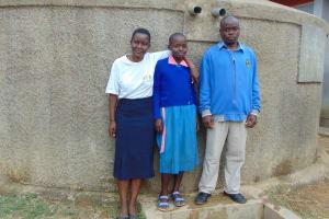 The Water Project: Naliava Primary School -  Field Officer Rose Brenda Mr Masinya