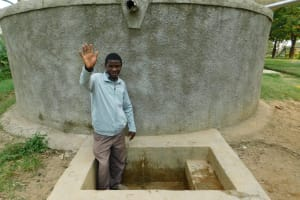 The Water Project: Lusiola Primary School -  Senior Teacher Evans Chisikwa