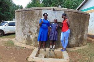The Water Project: Shihimba Primary School -  Mrs Ihaji Purity And Jemmimah