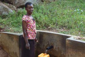 The Water Project: Upper Visiru Community, Wambosani Spring -  Mary Manase