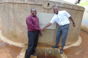 The Water Project: Precious School Kapsambo Secondary -  Together We Are Stronger