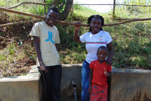 The Water Project: Mungaha B Community, Maria Spring -  Khanal Laura And Dunstone