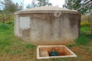 The Water Project: Lwanda Secondary School -  Lwanda Secondary School Rain Tank
