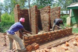 The Water Project: Lwanga Itulubini Primary School -  Latrine Construction