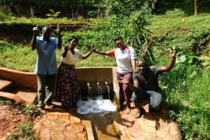 The Water Project: Shirakala Community, Ambani Spring -  Celebrating Water