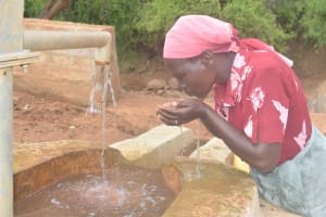The Water Project: Karuli Community D -  Drinking Well Water