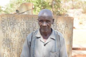 The Water Project: Katuluni Community B -  Mutemi David