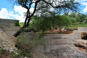 The Water Project: Maluvyu Community F -  Complete Dam