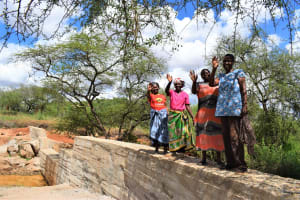 The Water Project: Maluvyu Community F -  Complete Sand Dam