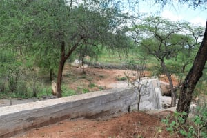 The Water Project: Maluvyu Community F -  Completed Dam