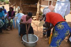 The Water Project: Maluvyu Community F -  Soapmaking
