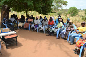 The Water Project: Maluvyu Community F -  Training Participants