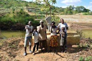 The Water Project: Masaani Community -  Kwame Martin Baraka Martin Veronica Kambua Veronica Musaa Mutindi Mumo Mwendi Mutua And Field Officer Lilian Kendi