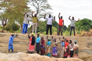 The Water Project: Kaukuswi Community -  Celebrating The Sand Dam