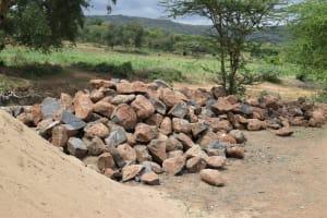 The Water Project: Kaukuswi Community -  Rocks For Dam