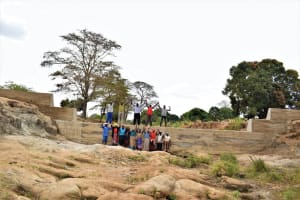 The Water Project: Kaukuswi Community -  Shg Members At The Sand Dam