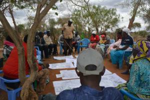 The Water Project: Kaukuswi Community -  Training