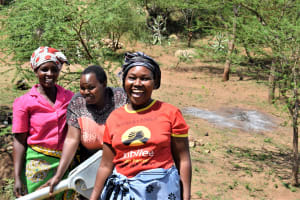 The Water Project: Maluvyu Community G -  All Smiles At The Well