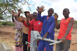 The Water Project: Kaukuswi Community A -  Celebrating The Well