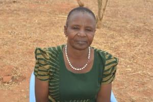 The Water Project: Kaukuswi Community A -  Peris Wakesho Nzingi