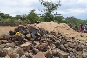 The Water Project: Kaukuswi Community A -  Rocks