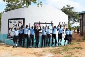 The Water Project: Kyamatula Secondary School -  Celebrating