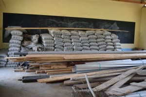 The Water Project: Kyamatula Secondary School -  Construction Materials