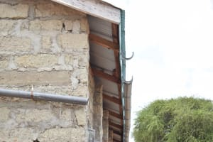 The Water Project: Kyamatula Secondary School -  Gutters To Be Installed
