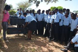 The Water Project: Kyamatula Secondary School -  Handwashing Training