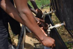 The Water Project: Kyamatula Secondary School -  Handwashing