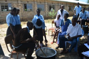 The Water Project: Kyamatula Secondary School -  Soapmaking