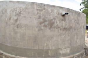 The Water Project: Kyamatula Secondary School -  Tank Walls Complete