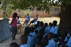 The Water Project: Kyamatula Secondary School -  Training