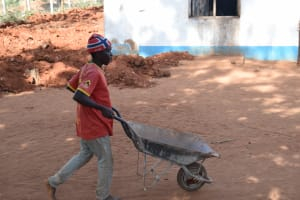 The Water Project: Kamulalani Primary School -  Carrying Materials