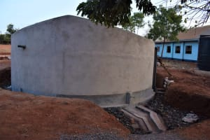 The Water Project: Kamulalani Primary School -  Complete Tank