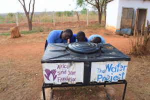 The Water Project: Kamulalani Primary School -  Handwashing Station