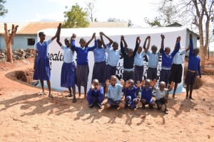 The Water Project: Kamulalani Primary School -  High Fives